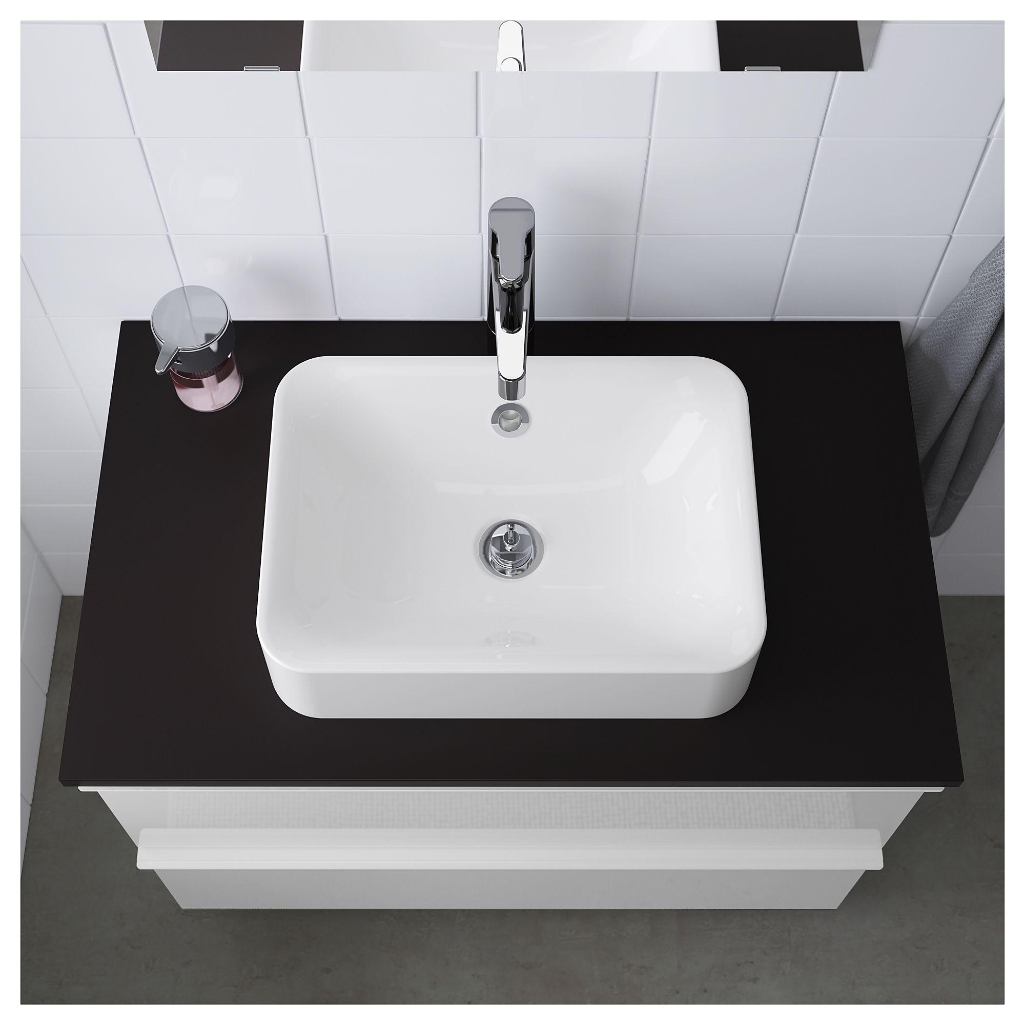 IKEA HRVIK Countertop sink white IKEA