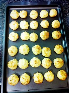 The Feisty Persian's Journey: Coconut balls