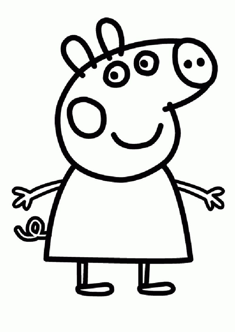 Cute Pig Coloring Pages Ideas Huge Collection Peppa Pig Coloring Pages Peppa Pig Colouring Peppa Pig Printables