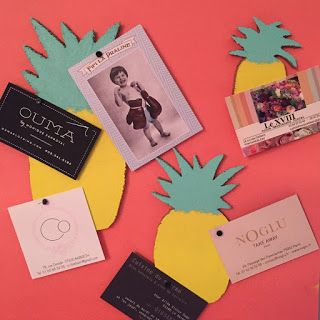 Mademoiselle CONSTELLATION ® Atelier DIY : Ananas mania, Decor, décoration, pin it, board, pin board, summer - Crédit Photo : Mademoiselle CONSTELLATION