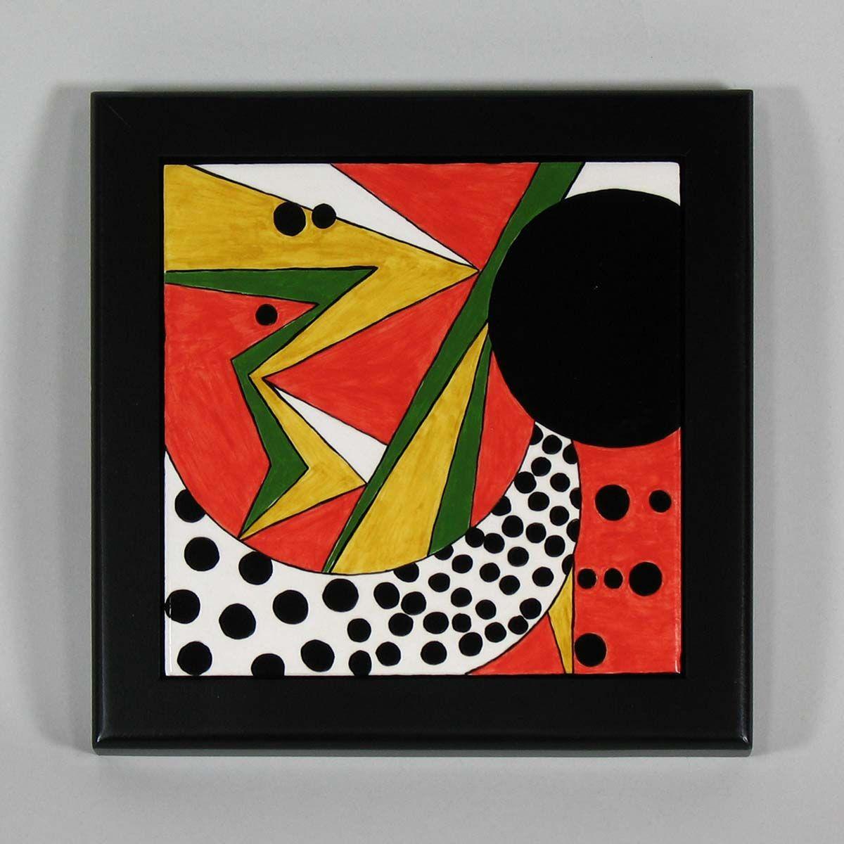 Black wood and ceramic tile trivet tiles frames pinterest black wood and ceramic tile trivet dailygadgetfo Choice Image