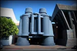 Binocular building!