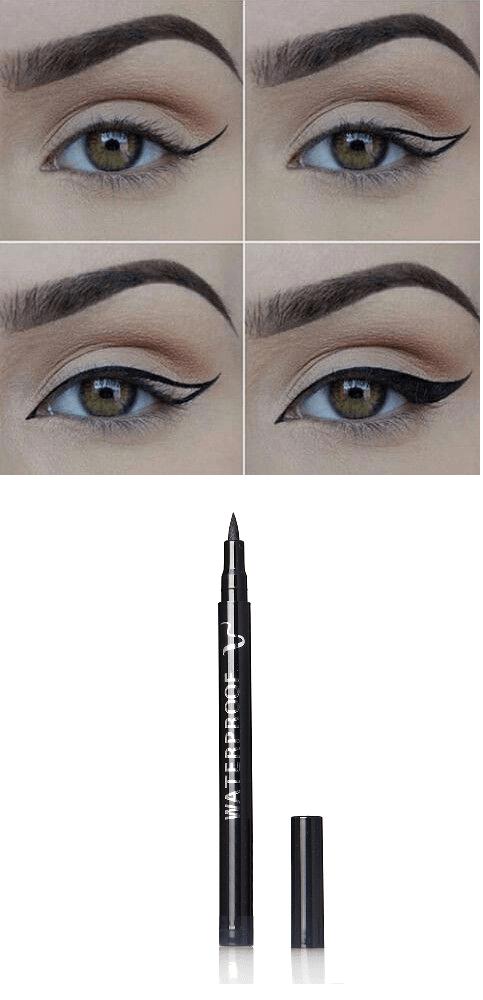 Black Smudge Proof Waterproof And Long Lasting Eye Liner Pencil Eye Makeup Eye Makeup Tutorial Pencil Eyeliner