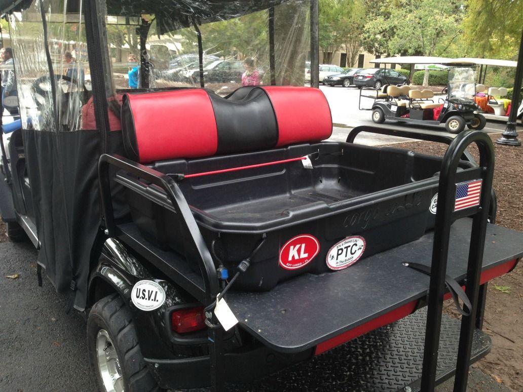 Repairing  Golf Club Car Seats