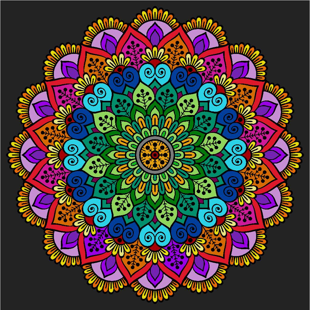 Pin by Raz on Mandalas - online coloring in | Pinterest | Mandalas