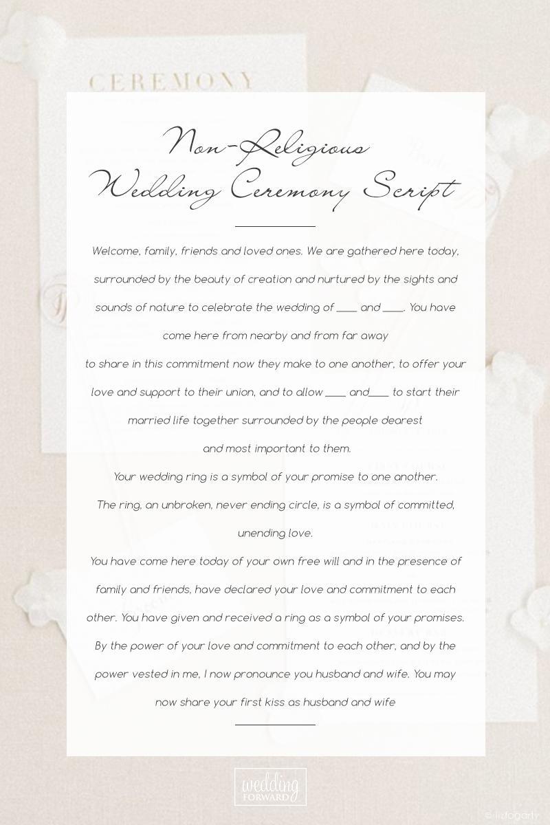 Sample Wedding Ceremony Scripts You Can Borrow For 2020 2021 Wedding Ceremony Script Simple Wedding Ceremony Script Wedding Ceremony Traditions