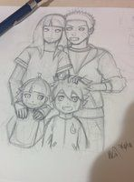 Naruto Family sketch :3 by Phoenixboy