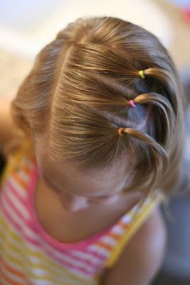 Peinados Con Ligas Para Ninas Peinados Pinterest Kinder Haar