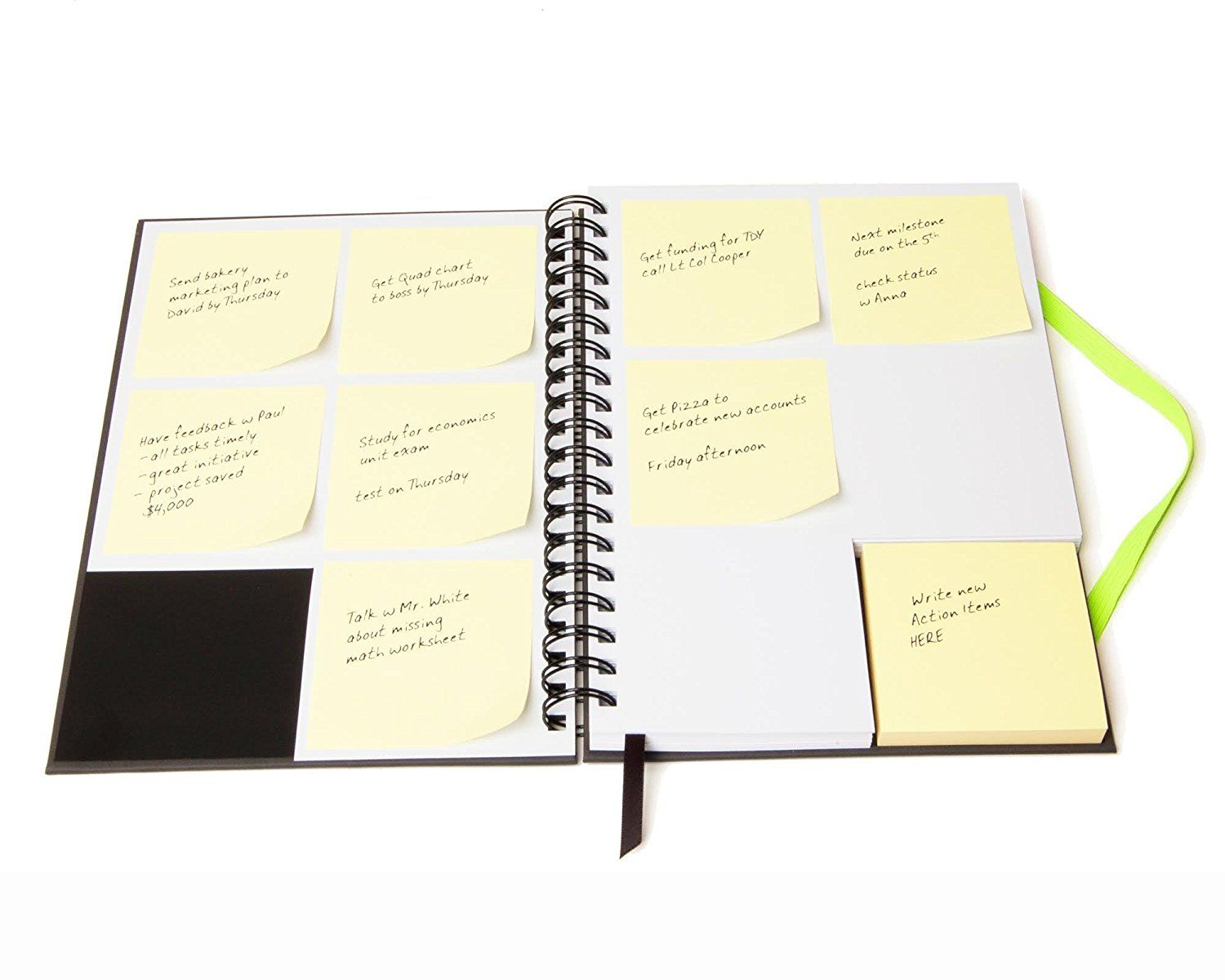 TO DO MANAGEMENT ActioNotebook from Amazon Paper