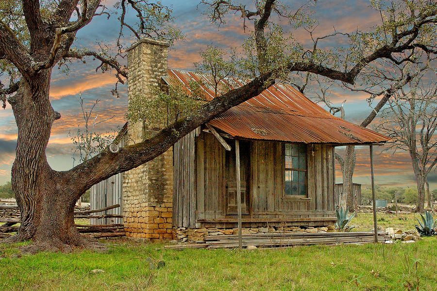 Old Stone House Texas Hill Country Old Farm House