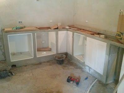 L 39 eco del mondo costruire una cucina in muratura con - Cucina muratura ikea ...