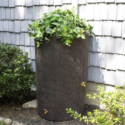 Impressions 90 Gallon Rain Barrel Rain Barrel Garden Tools Outdoor