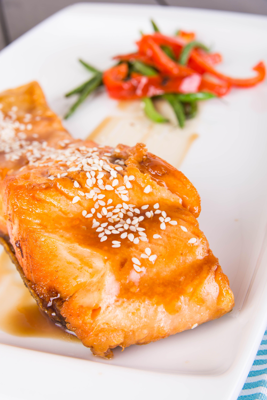 Broiled Salmon Teriyaki #salmonteriyaki Broiled Salmon Teriyaki #salmonteriyaki