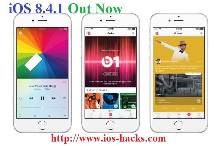 downgrade ios 8 4 1 http www ios hacks com