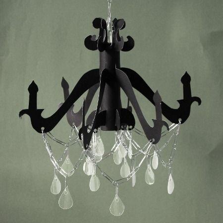 Cardboard chandelier diy diy but do it pinterest redes cardboard chandelier diy aloadofball Gallery
