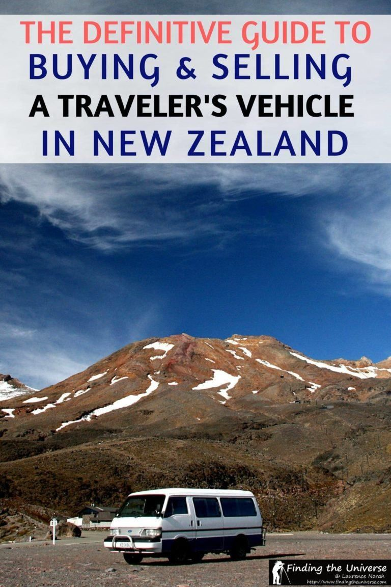 Tips For Buying And Selling A Travellers Vehicle In New Zealand