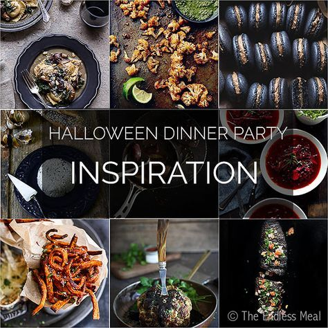 Halloween Dinner Party Menu Inspiration | The Endless Meal®