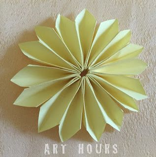 Origami Dahlia Flower with 8 units, how to make a paper dahlia flower. #origamidahlia