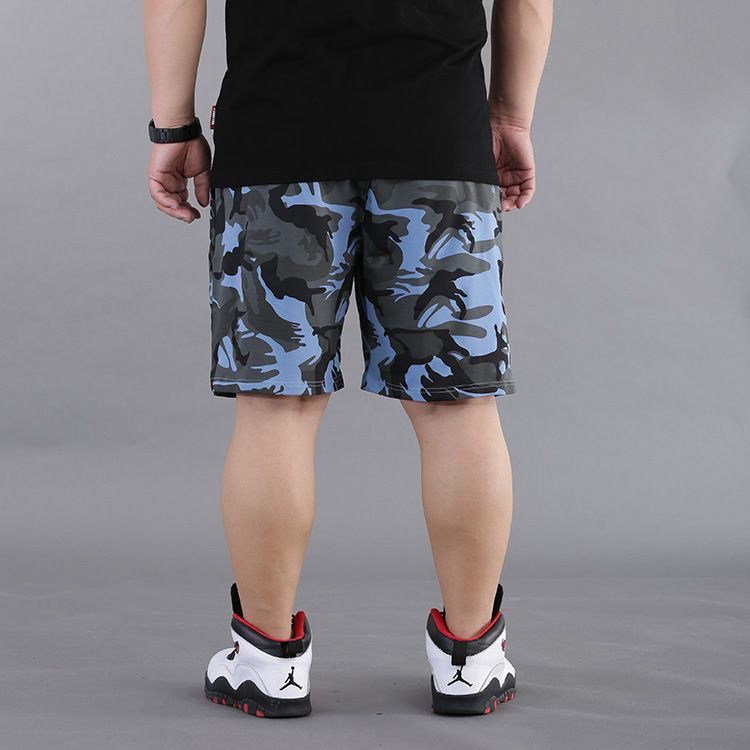 7xl 8xl Mens Plus Size Summer Camouflage Shorts 2017 New Arrival Hip Hop Baggy Shorts Loose Skateboard Short 050103 Men's Clothing
