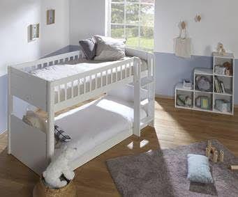Etagenbett Oxford : Kinder etagenbett chenapan 90x190 cm in weiß kollektion