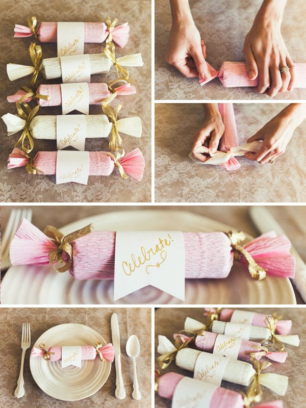 5 Handmade Cracker Ideas With Snap Crepe Paper Crackers