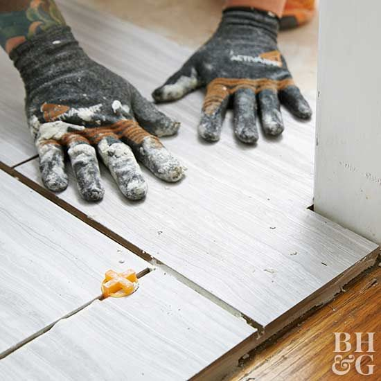 How to Tile and Grout a Floor | Tile floor diy, Diy ...