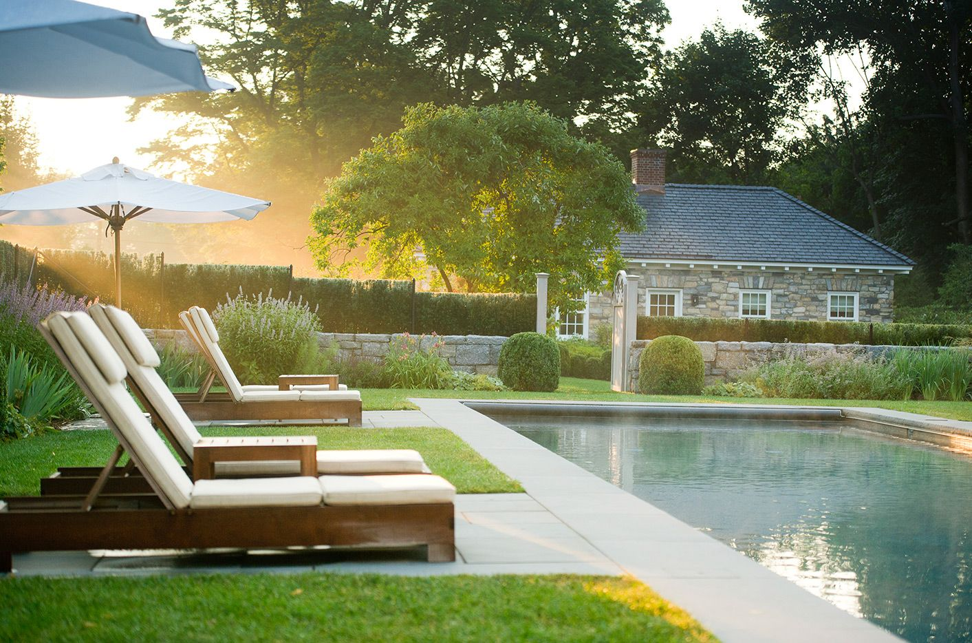 Captivating Landscape Designers   Greenwich, CT   Doyle Herman Design Associates |  Looks So Relaxing!
