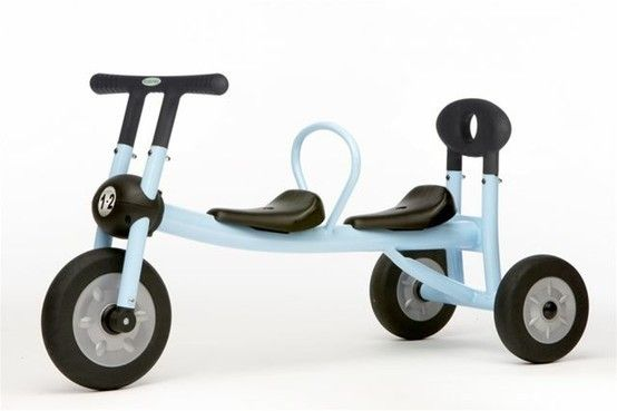 Non Pedal Double Trike First Birthday Present For The Twins Twin Toys And Gear