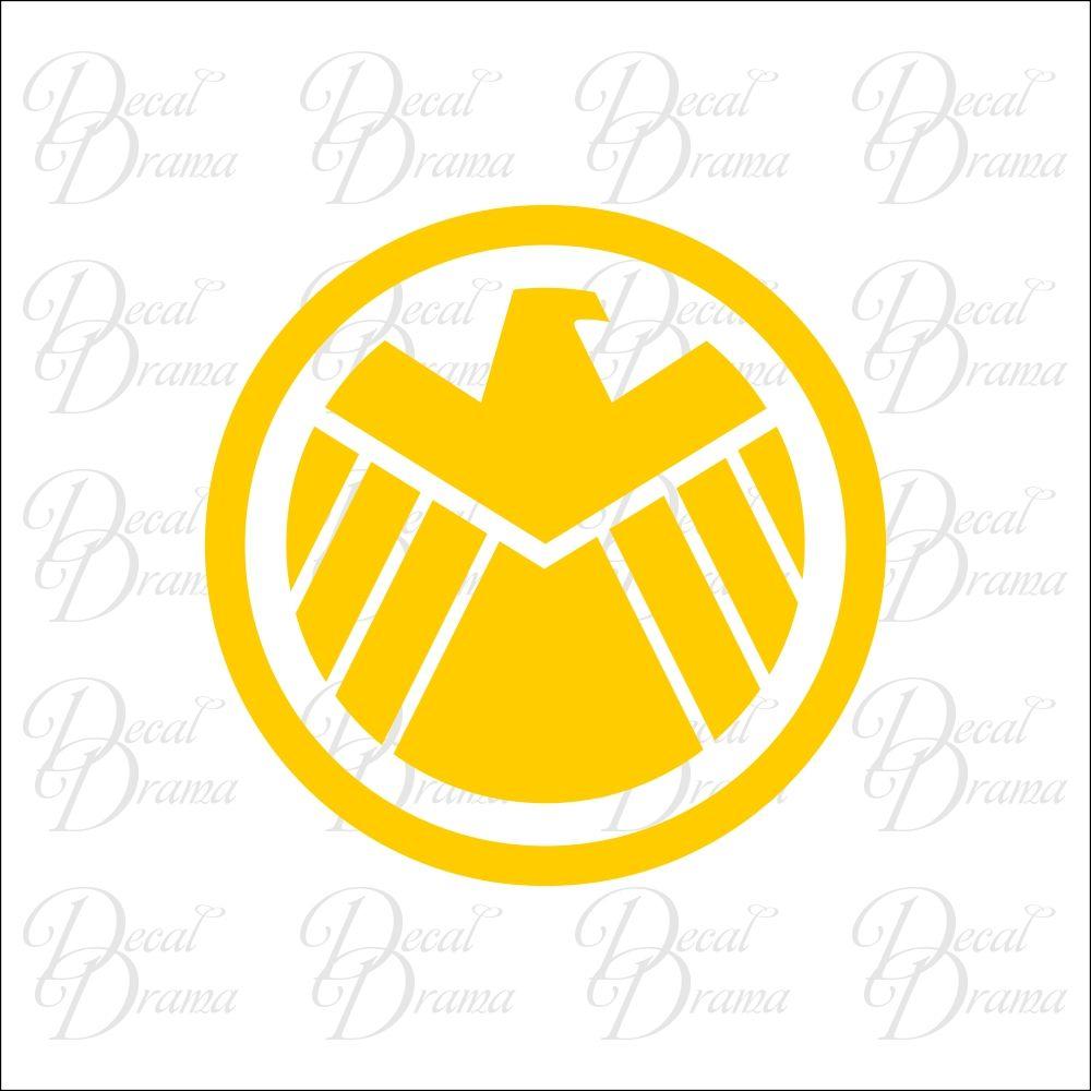 SHIELD Eagle emblem Vinyl Car Decal Car decals vinyl