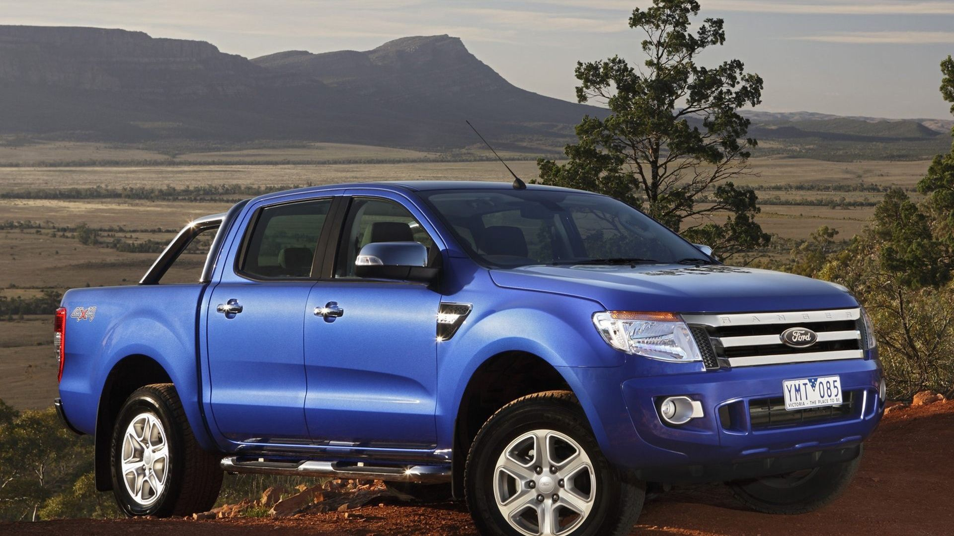 2016 ford ranger widescreen hd wallpaper desktop