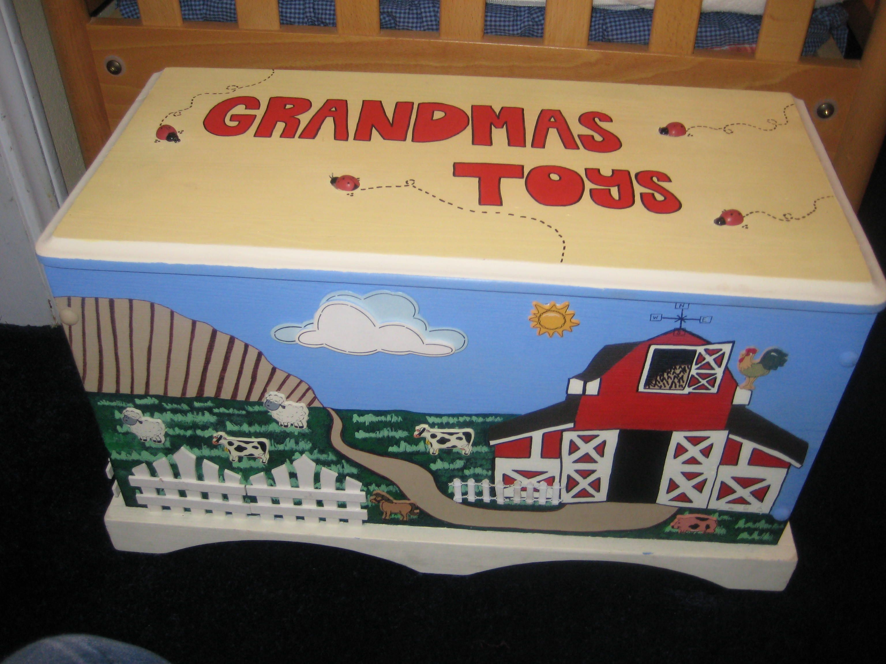 Grandmas Toy Box All For The Kids Toy