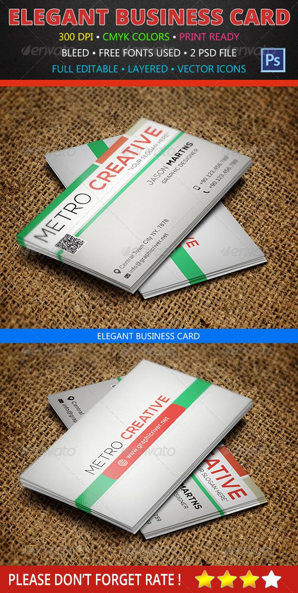Creative business card 132 business cards fonts and business creative business card 132 graphicriver 3520 375 x 225 with bleed settings 300 dpi cmyk print ready full editable layered free fonts reheart Images
