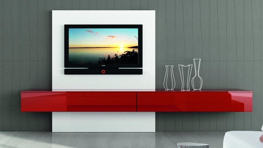 Modern italian tv unit astro composition 1 high gloss Tv panel furniture design