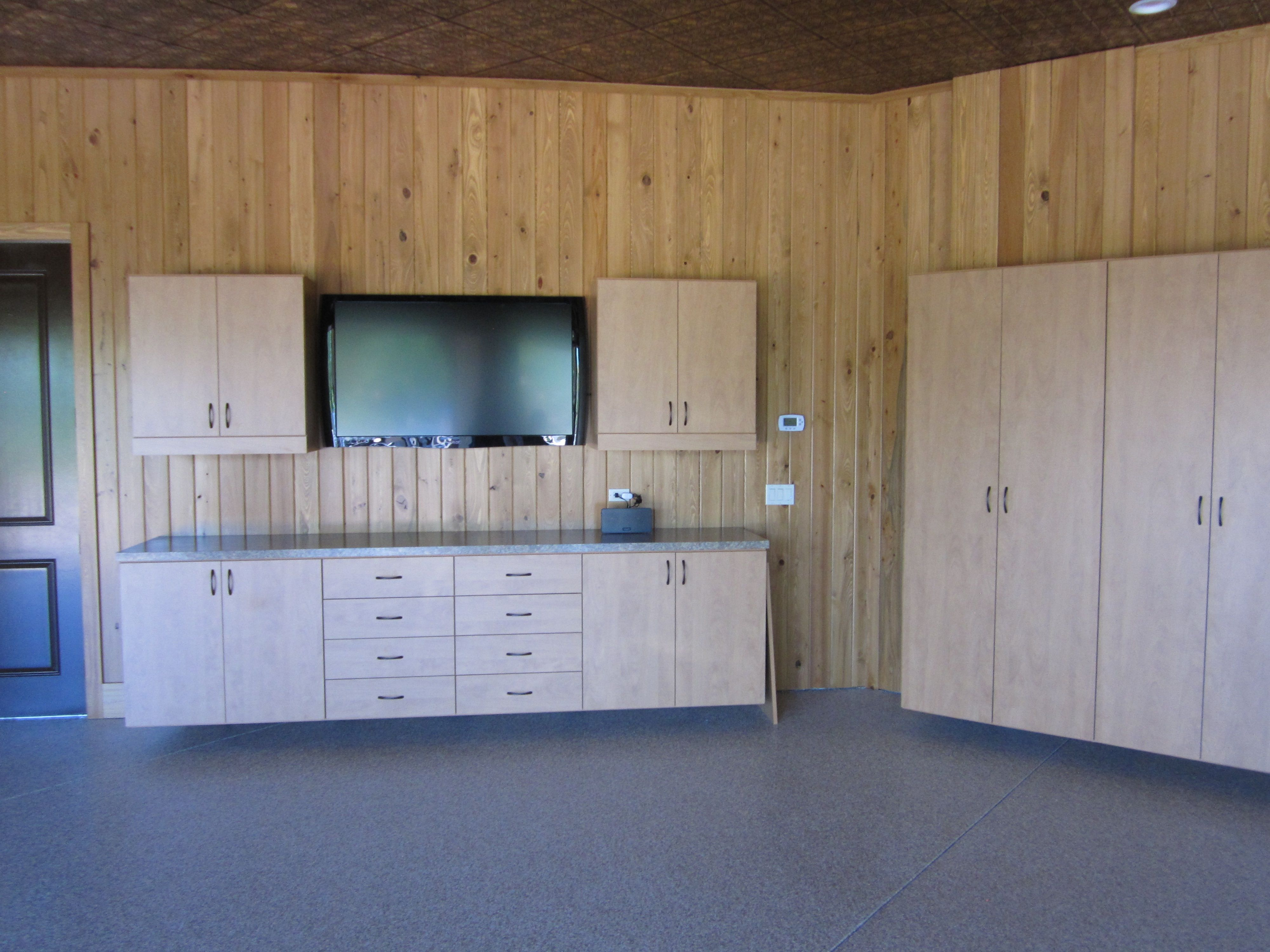 Charming Custom Garage Furniture Man Cave Workshop Cabinet Cabinetry Murphy Bed  Storage Space Saver More Space Place