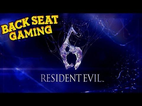 Smosh Backseat Gaming with Lasercorn and Sohinki playing Resident Evil 6