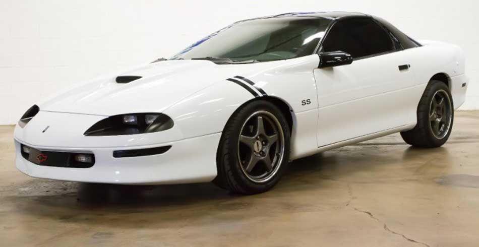 4th gen 1997 Chevrolet Camaro SS LT1 5.7 V8 T-tops For Sale ...