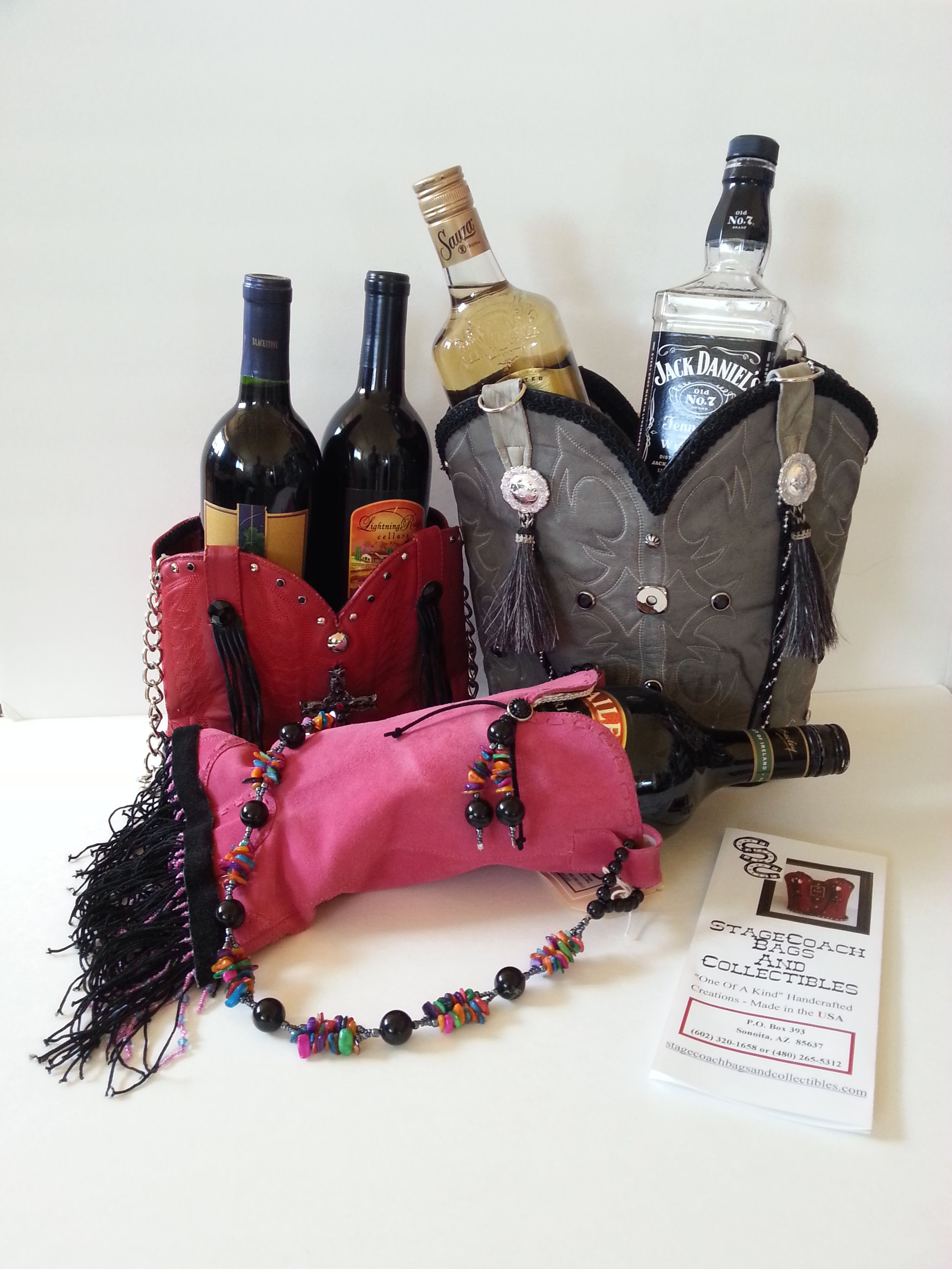 Scc New Line Of Wine And Alcohol Totes Great Gift For Father S Day Made From Vintage Cowboy Boots Vintage Cowboy Boots Cowboy Boot Purse Handcrafted Leather