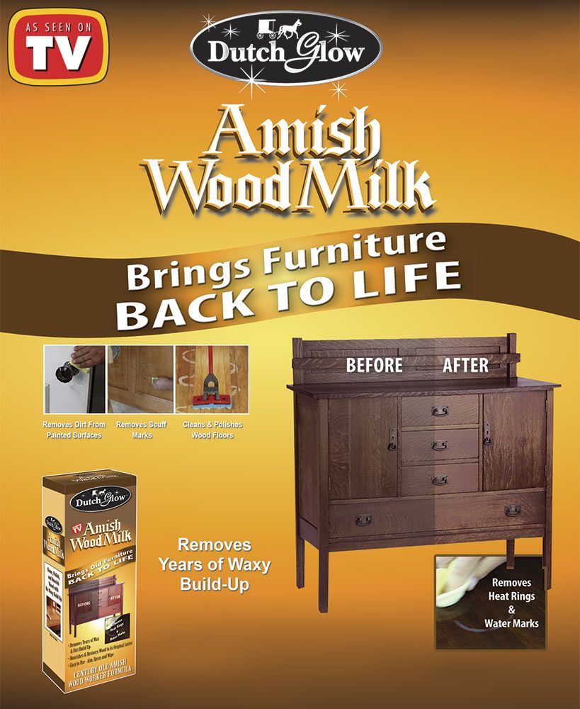 Dutch Glow Amish Wood Milk Amish Wood Milk Wood Polish Wood