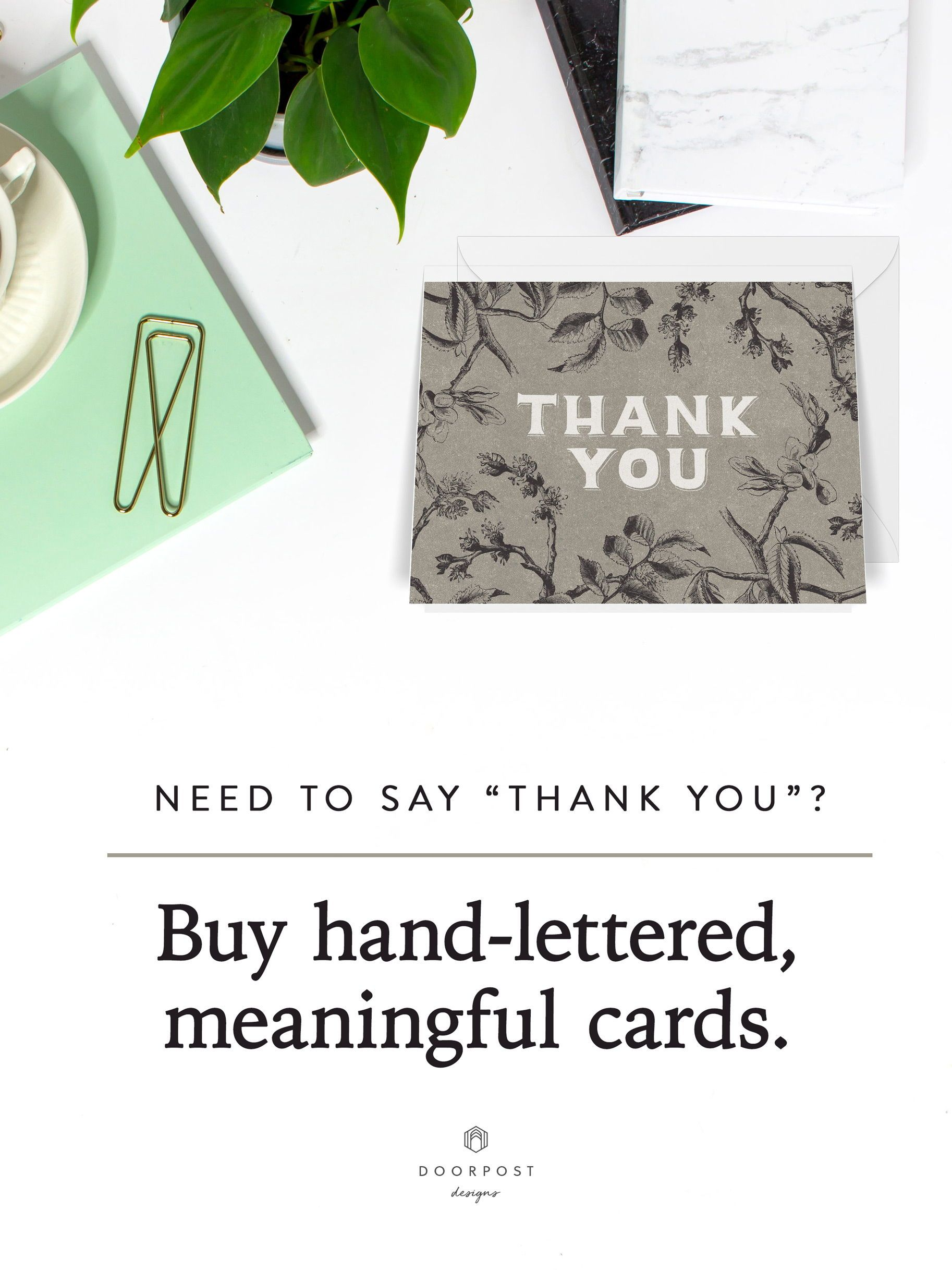 A thoughtful and beautiful way to say thank you for all of