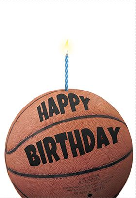 Basketball Birthday Card Greetings Island Basketball Birthday Cards Basketball Birthday Happy Birthday Basketball