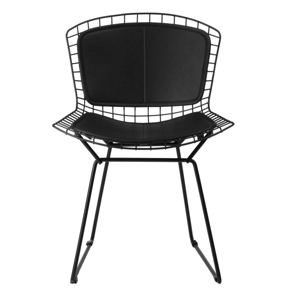 Replica Harry Bertoia Side Chair   Back U0026 Seat Pads By Harry Bertoia   Matt  Blatt