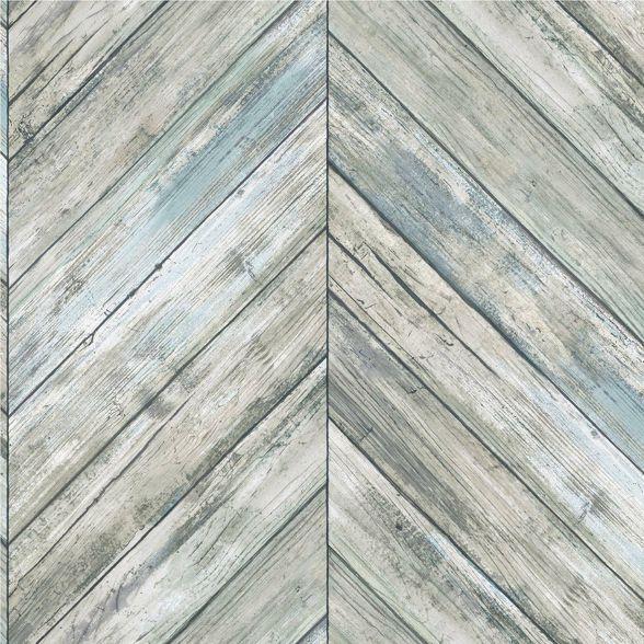 Roommates Herringbone Wood Boards Peel Stick Wallpaper In 2020 Herringbone Wood Peel And Stick Wallpaper Wood Wallpaper