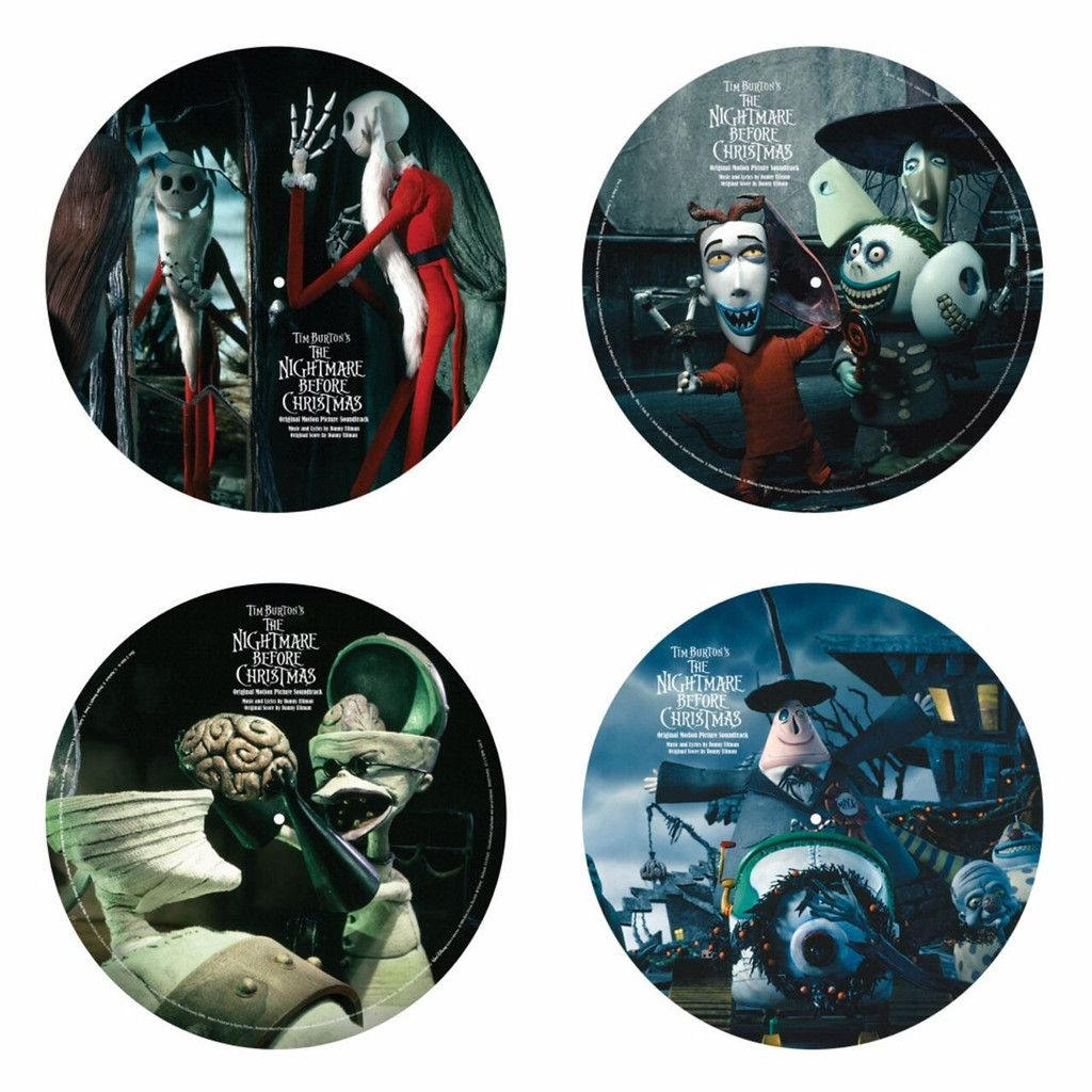 Tim Burton\'s The Nightmare Before Christmas 2 LP VINYL Soundtrack ...