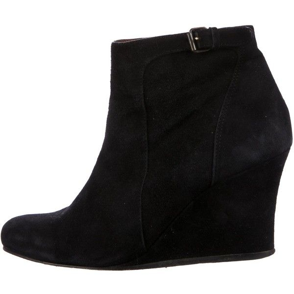 Pre-owned - Black Suede Boots Lanvin Great Deals Online Top Quality Sale Online Buy Cheap 2018 New Buy Newest aKQEV