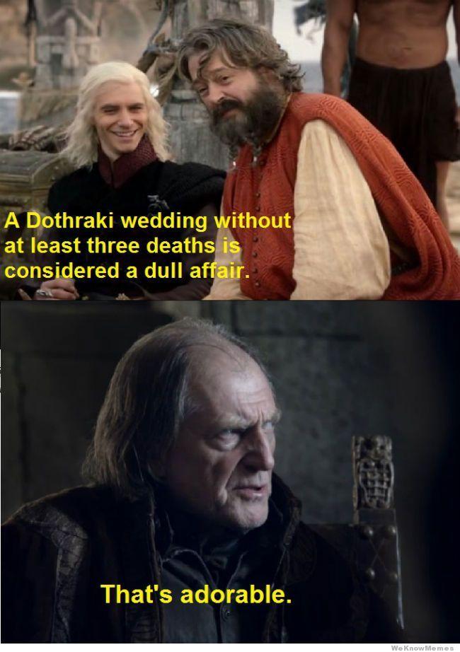 A Dothraki Wedding Thats Adorable Jpg 650 922 Game Of Thrones Funny Game Of Thrones Throne