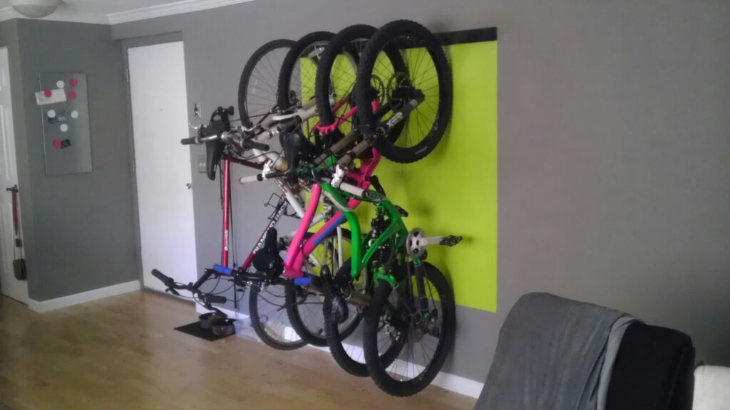 Bike Rack Ryan Pinterest Small Apartments Apartments And
