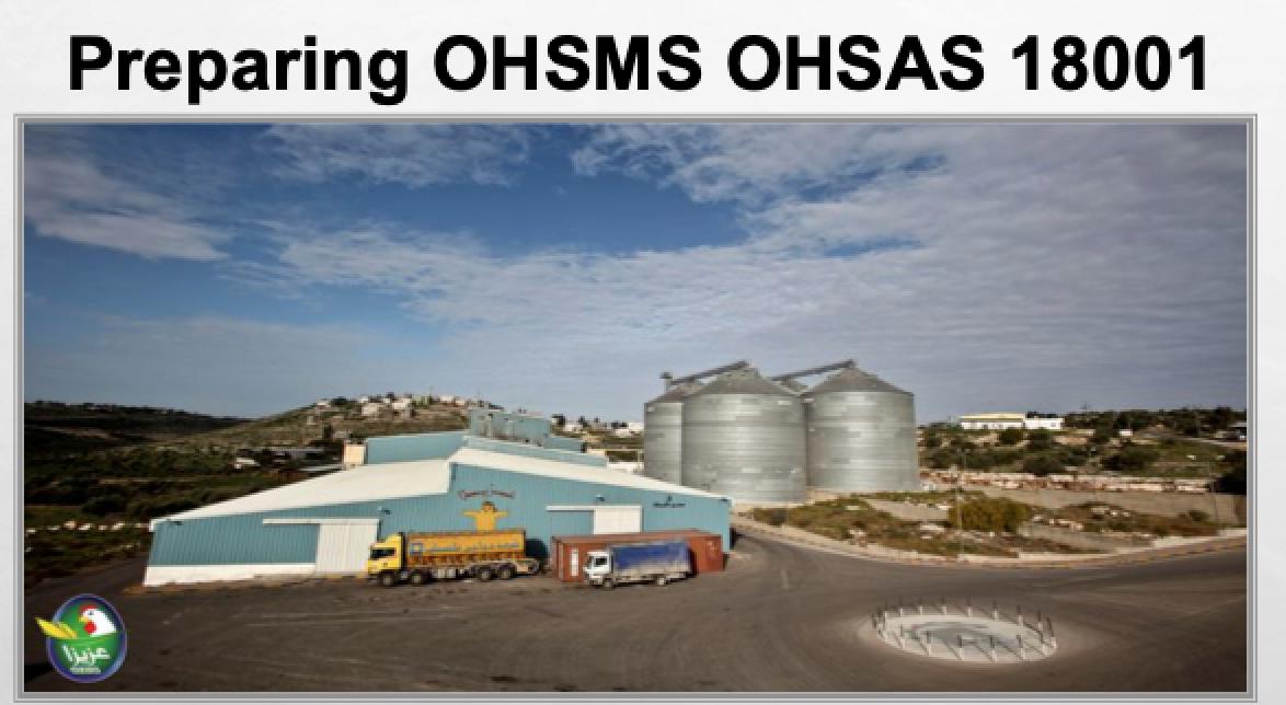 اعداد نظام صحة وسلامة مهنية لمصنع مواصفة Ohsas 18001 Structures Road Vehicles