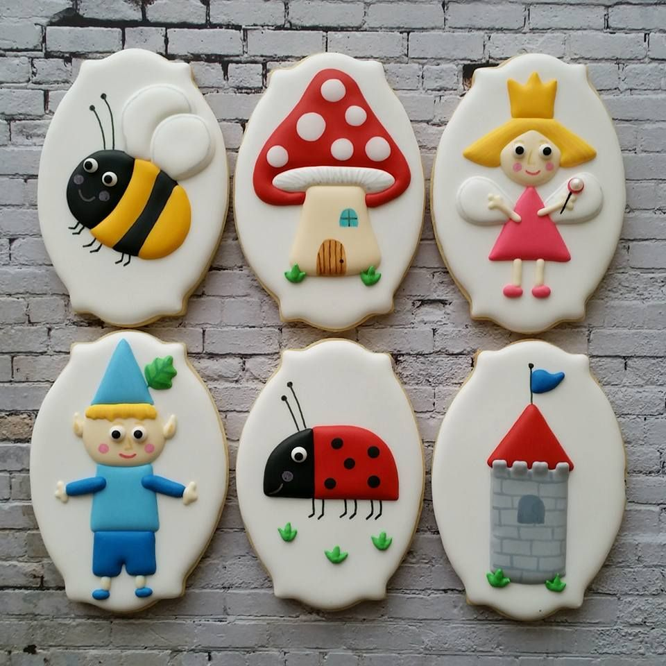 ben and holly cookies ben holly gaston little kingdom castle fairy