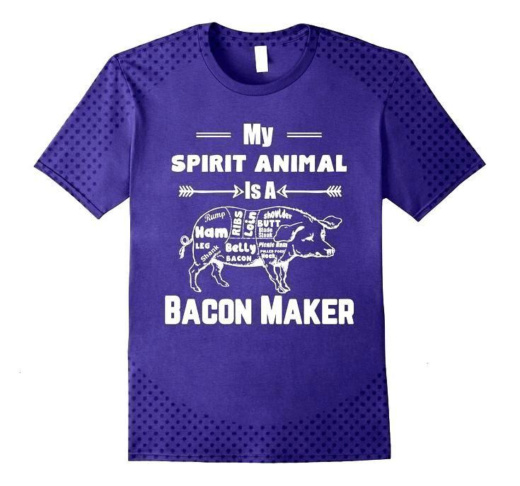 Spirit Animal Bacon Funny Lovers,