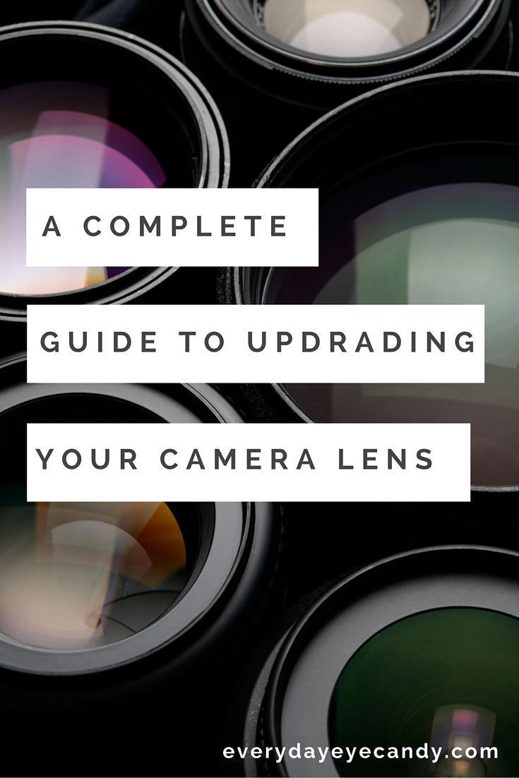 A Complete Guide To Upgrading Your Camera Lens With